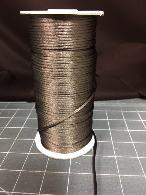 Dark Brown Rayon RT cord 133.33 yards